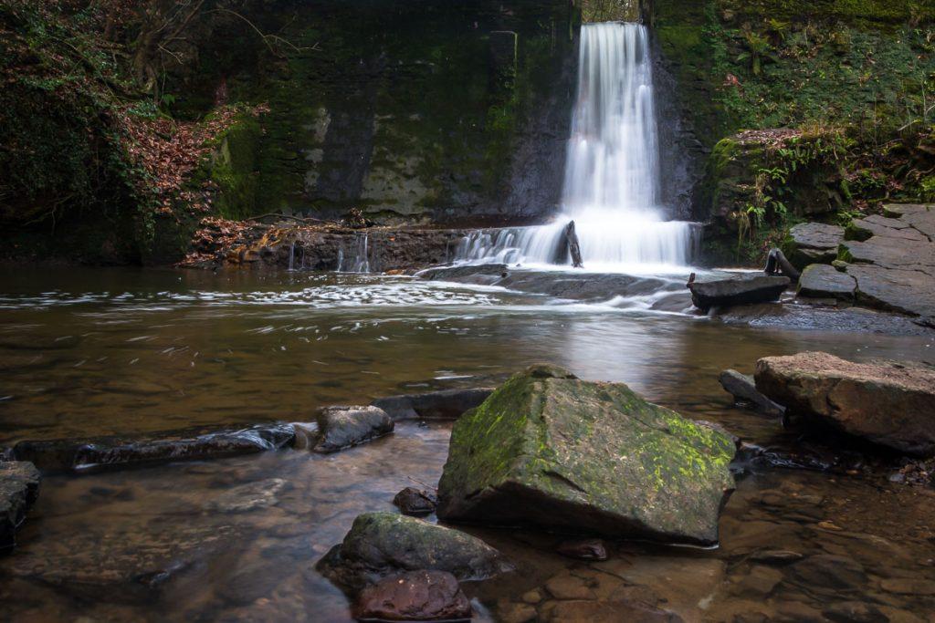 Wepre Park Waterfall