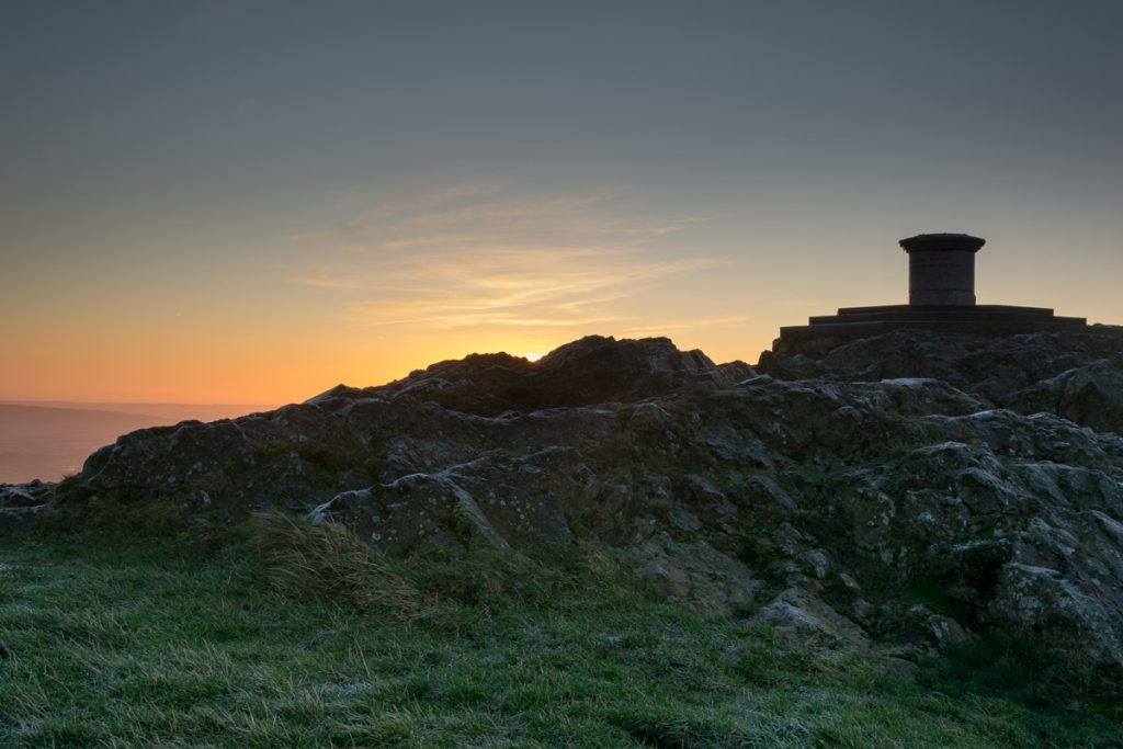 Worcestershire Beacon - Malvern Hills Sunrise Photograph