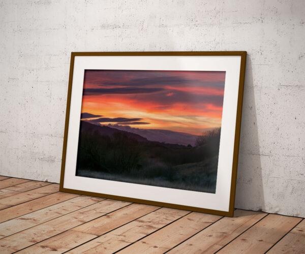 Talacre Sunset Mockup