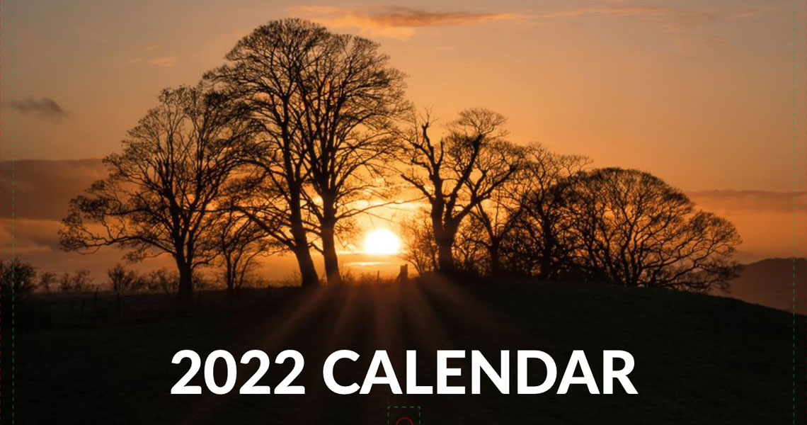 2022 Landscape & Nature Calendar