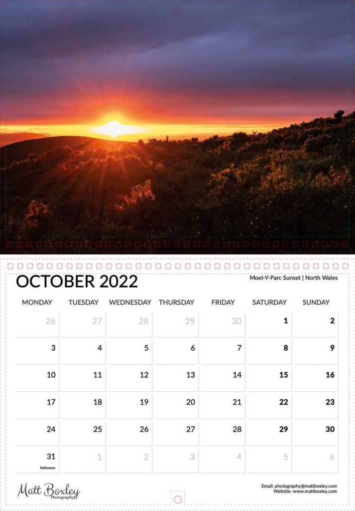 2022 landscape and nature calendar.  Order today!
